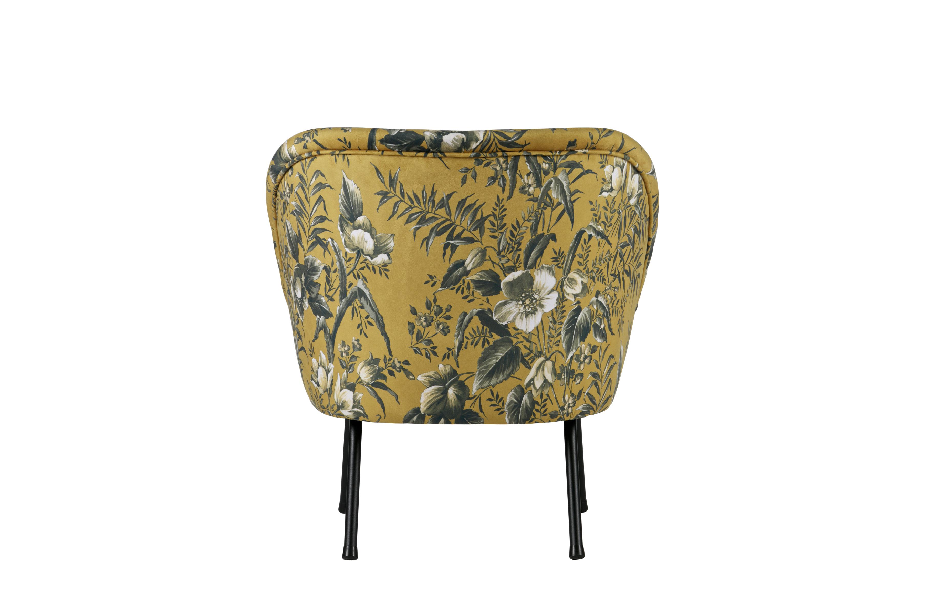 Vogue fauteuil fluweel poppy interieurwinkel
