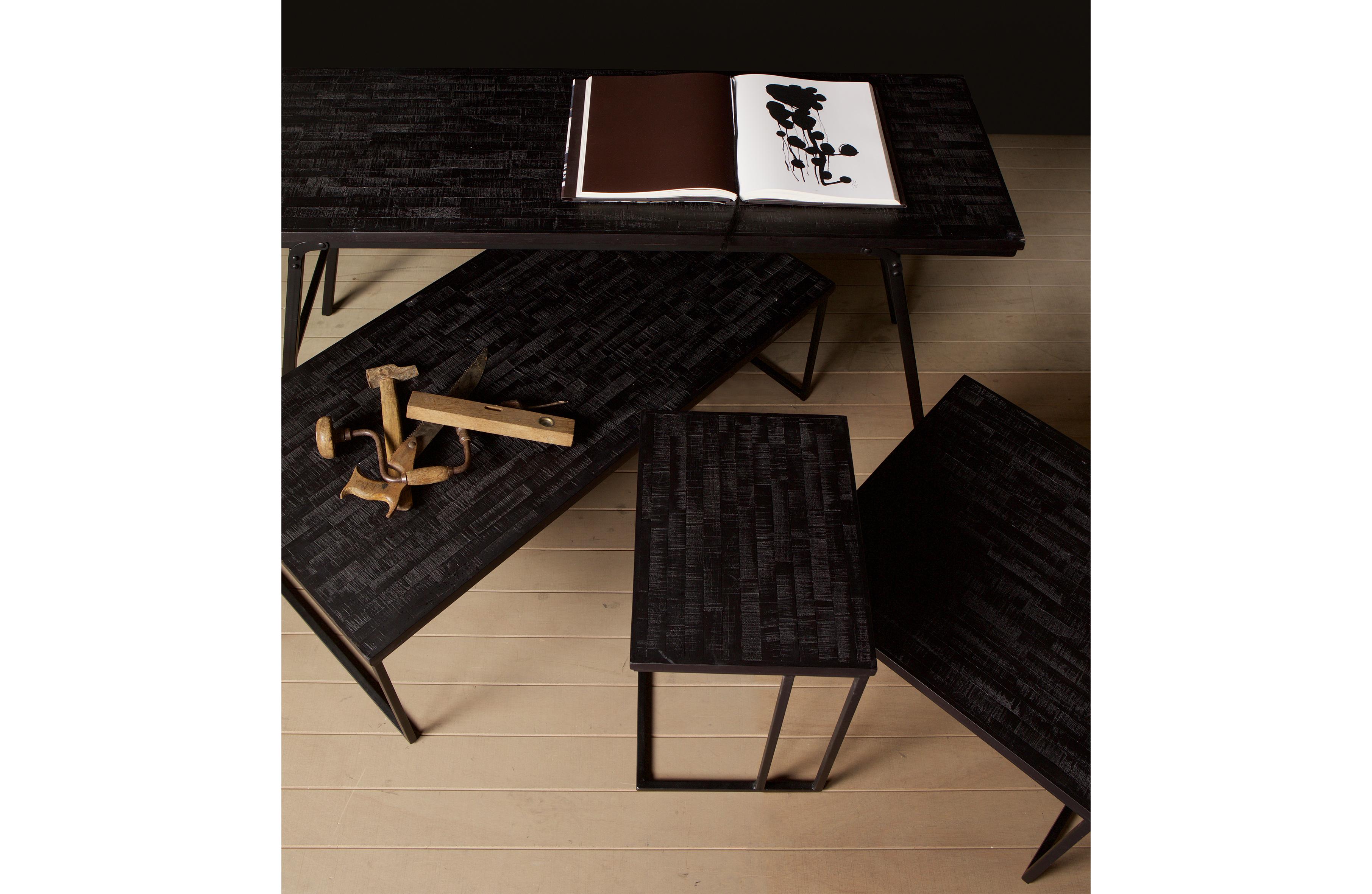 Handige Inklapbare Tafel : Sharing inklapbare tafel zwart interieurwinkel